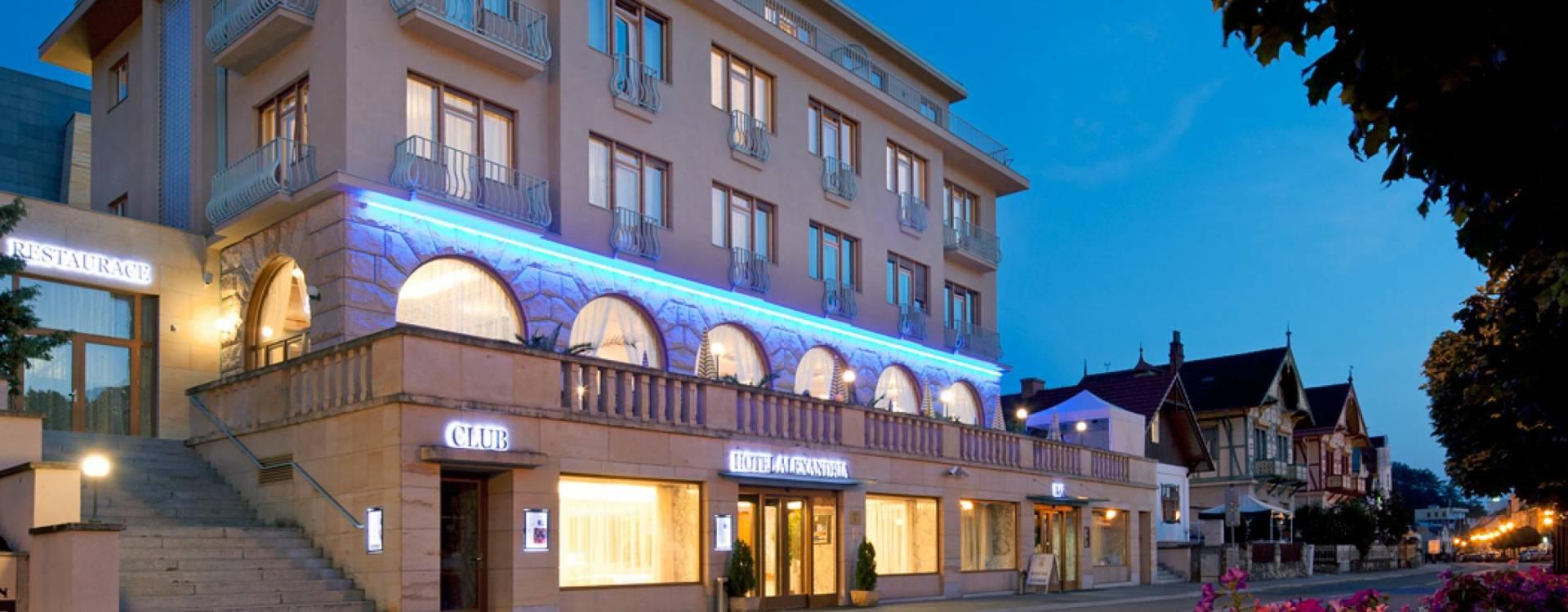 Spa a Wellness hotel Alexandria - Lázně Luhačovice | Lázně Travel