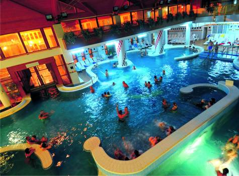 Hotel Park Inn Zalakaros - adventure pool indoor