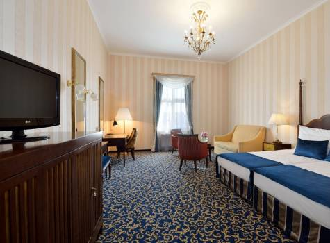 Hotel Grand Margaret Island - Grand Deluxe twin blue 1