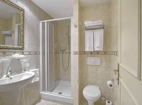 Hotel Continental - hotel-continental-marienbad-bathroom-shower