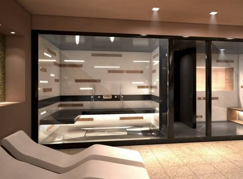 Hotel Slovenija - render-turkish-bath