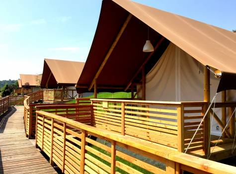 Glamping Sun Valley Bioterme - tents