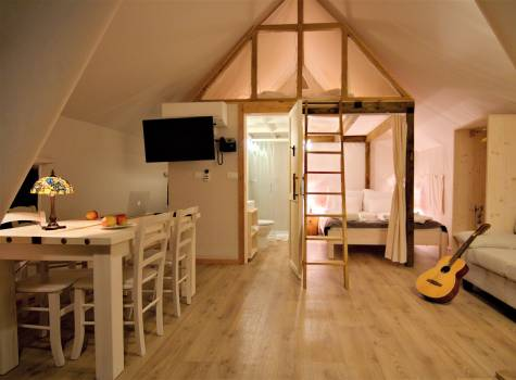 Glamping Sun Valley Bioterme - tent small 11