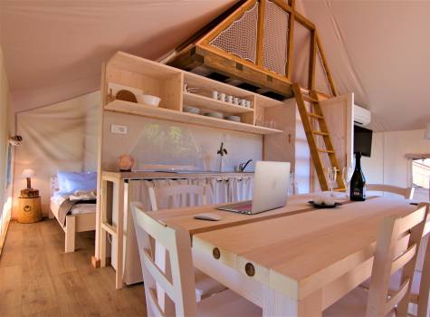 Glamping Sun Valley Bioterme - tent small