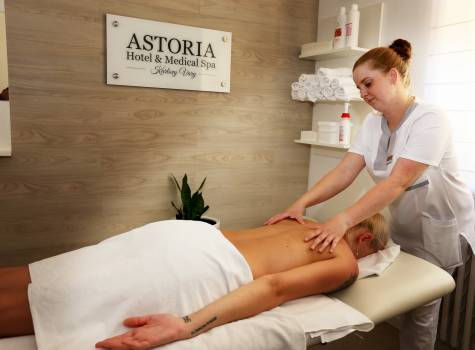 ASTORIA Hotel & Medical Spa - massage 4