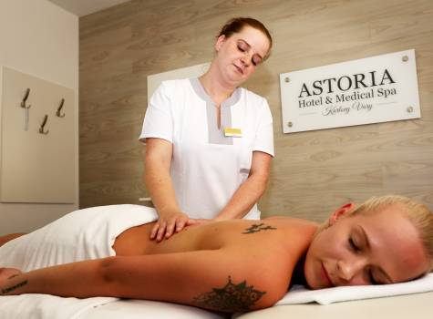 ASTORIA Hotel & Medical Spa - massage 6