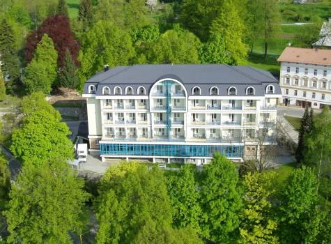 Lázně Jeseník Hotel Bezruč